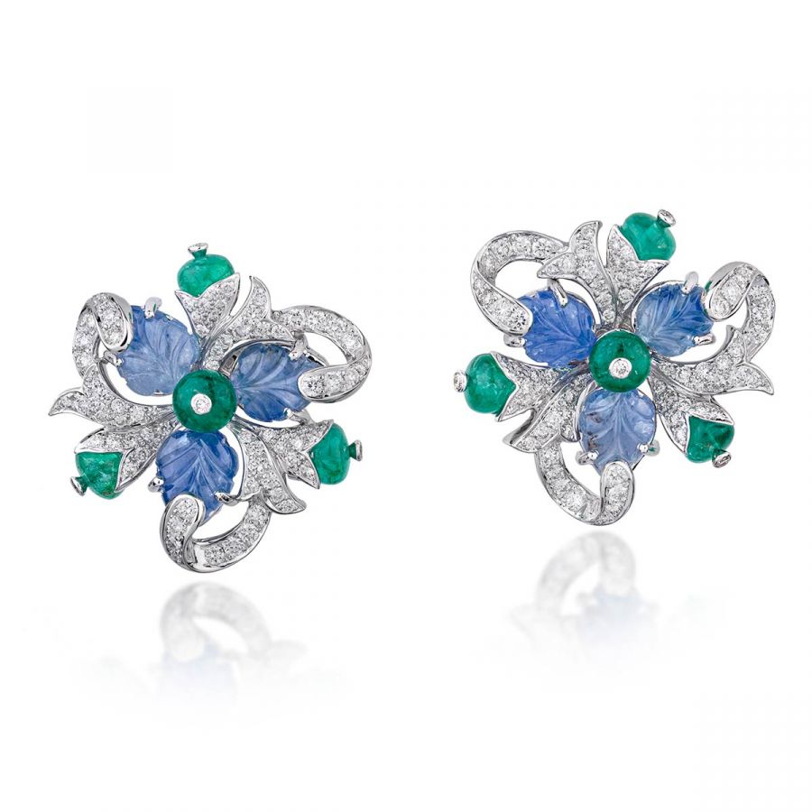 The Boutonniere earrings