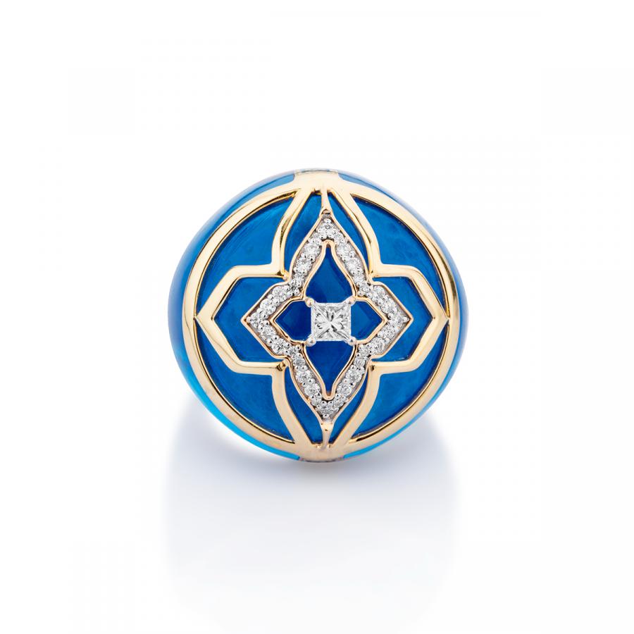 Amaira Ring Cobalt